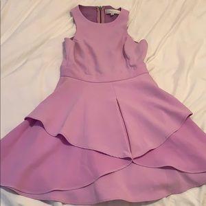 Light purple dress, great for weddings